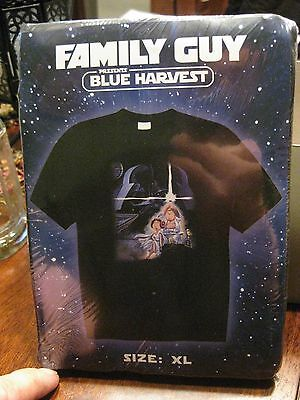 Family Guy Blue Harvest T-Shirt New XL