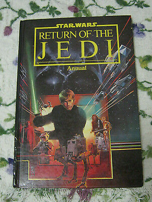 Return of the Jedi Annual 1983 Uk ed H/c Collectable Vintage Star Wars book