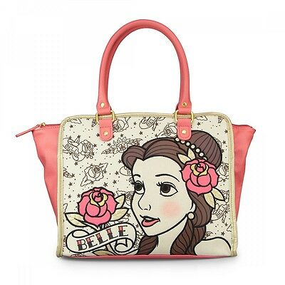 New Disney Belle Beauty And The Beast Bag Loungefly