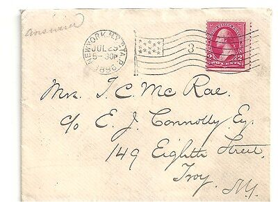 US Old Cover of 1896 with letter