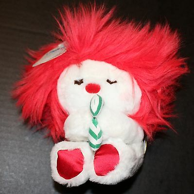 Dakin Frou Frou Christmas Red White Green Candy Cane Vintage New 1984 Plush Toy