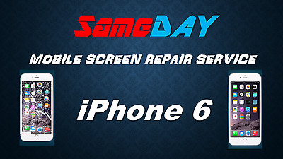 Fast iPhone 6 Screen Repair Service COMPLETE LCD DIGITISER REPLACEMENT