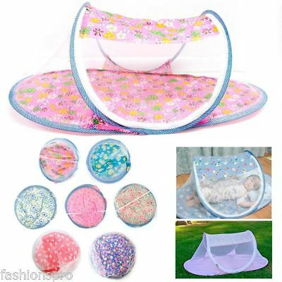 New Portable Foldable Baby Mosquito Tent Travel Infant Bed Net Instant Crib