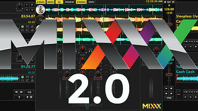 NEW! MIXXX DJ V2.0 Your Way Sound Audio DJ software Windows and MAC + User Guide