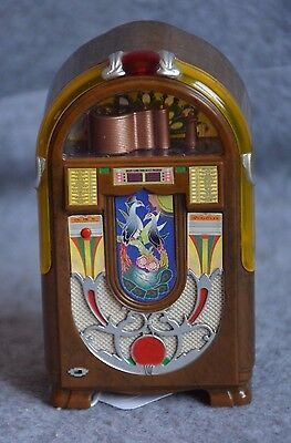 MINI JUKEBOX   WURLITZER  850 PEACOCK  miniatura , da collezione