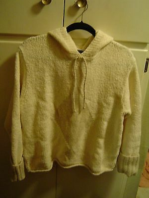 Beautiful Hooded Sweater Made In Ireland