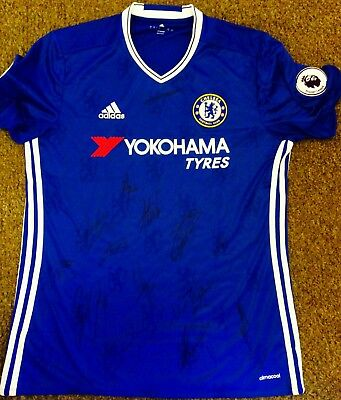 Signed Chelsea 2016/2017  Home Shirt