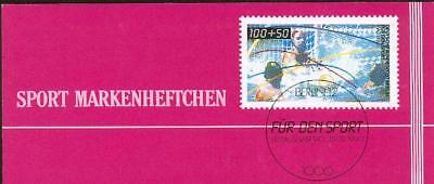 Berlin special booklet+sheet water polo Wasserball cx02