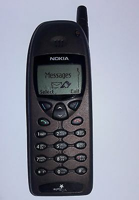 Vintage Nokia 6120i Classic Mobile Cell Phone working retro Cellular