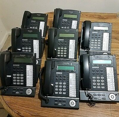 Lot Of 11 Panasonic Kx-T7630-33 Speakerphone
