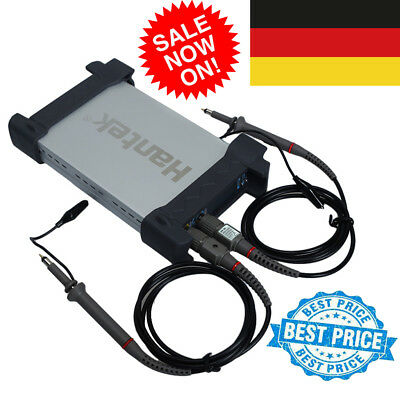 Hantek 6022BE USB Digital Oszilloskop 2Kanal 20MHz Storage Oscilloscope 2CH 48MS