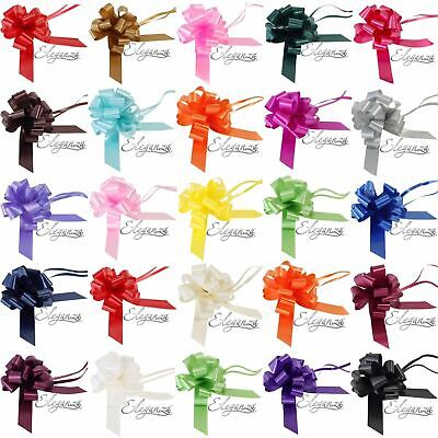 Medium 30mm Pull Bow Quality Gift Present Wrap Ribbon Wedding Car Birthday Party