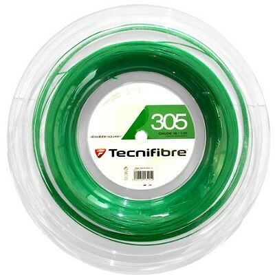 Tecnifibre 305 Squash String - 1.10Mm - 200M Reel - Green - Rrp £180