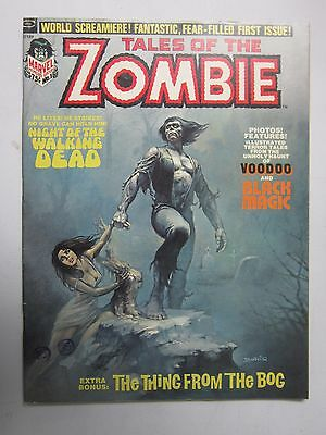 Tales of the Zombie (1973) Magazine #1 - 4.0 - 1973 - H20 Stain
