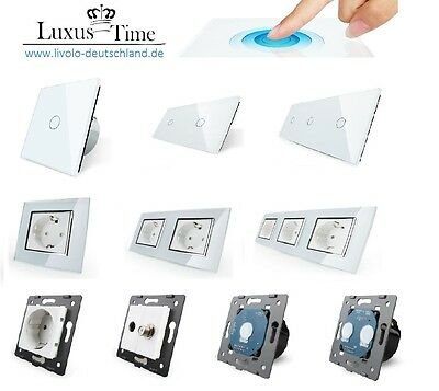 Light switch Sockets Toggle switch Dimmer Button Cross switch USB LIVOLO