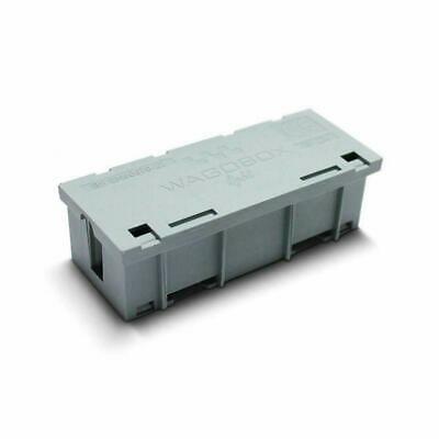 10 x WAGOBOX LIGHT Multi-Purpose Junction Box Grey 39mm x 29mm x 95mm 51303208