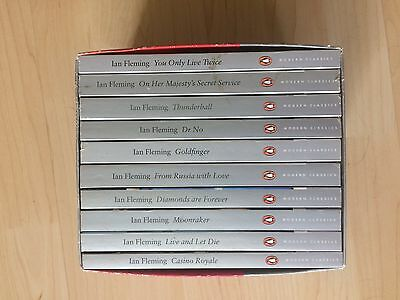 Ian Fleming James Bond 10 Book Set