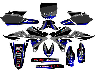 2014 2015 2016 2017 2018 Yamaha Yz 250F 250Fx Graphics Kit 250 F Fx Decals Deco