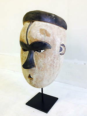 Fang Mask with Stand. Guinea, Africa. African Mask.