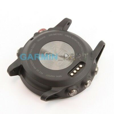 New Back case with buttons for Garmin fenix 3 gray genuine part repair shell
