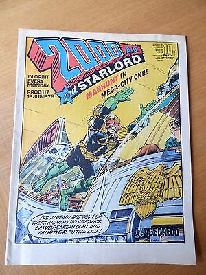 2000AD Issue 117 - Good Condition