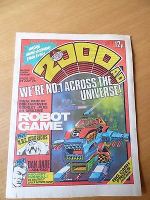 2000AD Issue 122 - Good Condition