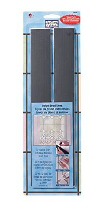 """Gallery Glass Instant Lead Lines 72 ft 1/8"""" Thick 16690"""