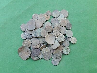 3. Lot of 100 LATE ROMAN EMPIRE BRONZE COINS