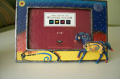 Trail of Painted Ponies Southwest Colors KOKOPELLI PONY 4 x 6 Photo Frame