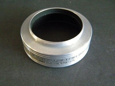 Kodak Adapter Ring Series VI 11/4mm-31.5mm with case and series VI hood
