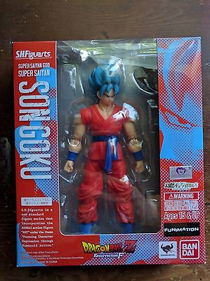 S.H.Figuarts SSGSS GOKOU Figure Dragon Ball Z Revival of F Japan