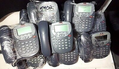 Lot of 10 Avaya Digital Display DCP Telephone IP Business Phones 5410 5610SW