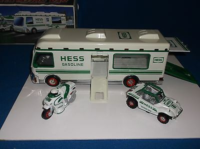 Hess Recreation Van With Dune Buggy and Motorcycle