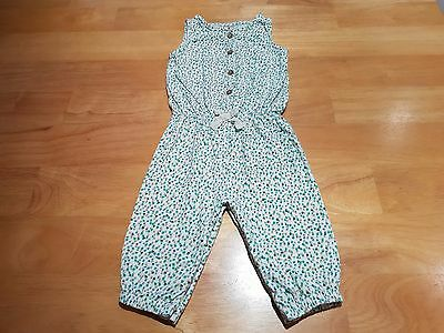 NEXT Baby Girl Clothes All in One Patterned Jumpsuit Age 6-9m
