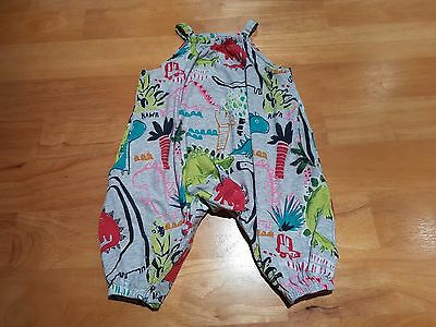 NEXT Baby Girl Clothes All in One Playsuit with Dinosaur Pattern Age 6-9m