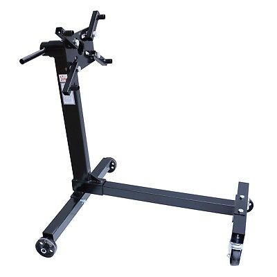 FoxHunter Swivel Transmission Gearbox Engine Support Stand 1000 lbs Black New