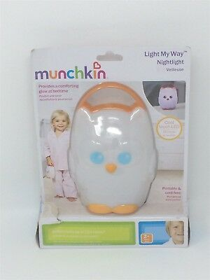 Munchkin Light My Way Nightlight For Kids Toddler Children's Room