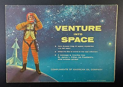 """""""ventures In Space"""" Space Travel Chart"""