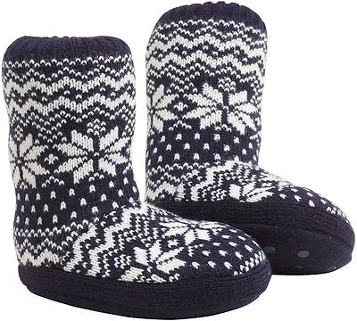 boys  NEXT BNWT navy CHRISTMAS slipper socks