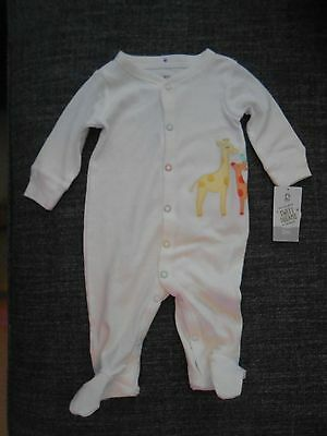 NWT Carter's Neutral Giraffe One Piece Outfit Size 3 months