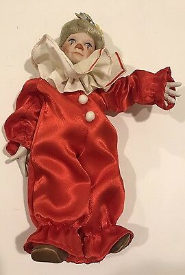 """McClelland Children's Circus Knowles 1990 """"Tommy The Clown"""" Reco DOLL"""