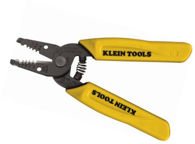 Klein Tools 11048 Dual-Wire Stripper/Cutter for Solid Wire