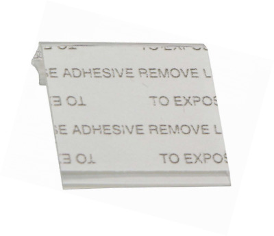 Self-Adhesive Earring Card Adapter 1x1 (100-Pcs) Jewelry Display
