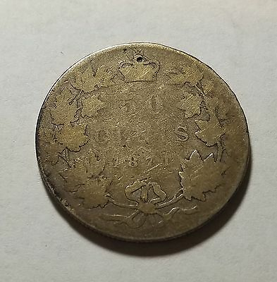 1871 Canada 50 Fifty Cents