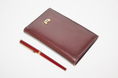 "Vintage ETIENNE AIGNER - 5"" x 3"" Address Book with Pen"