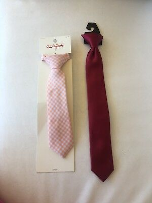 Lot Of 2 New Infant Toddler Ties