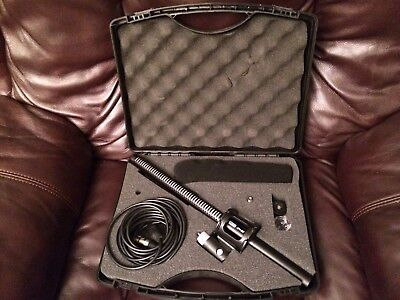 Vidpro XM-88 Condenser Shotgun Microphone Mic Kit 48v Phantom/AA powered