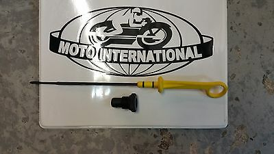 Moto Guzzi Norge and Stevio Extended Oil Dip Stick - 978496