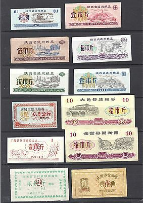 China planned economy period of food coupon of 12
