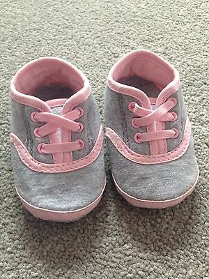 Mothercare Girls Trainer / Pumps 0-3 Months